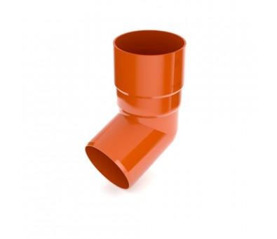 Alkūnė lietvamzdžiui 90 mm / 65,7° plastikinė molio spalvos BRYZA