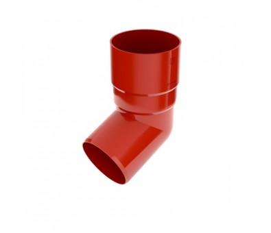 Alkūnė lietvamzdžiui 90 mm / 65,7° plastikinė raudona BRYZA