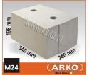 ARKO silikatinis – mūro blokelis M24
