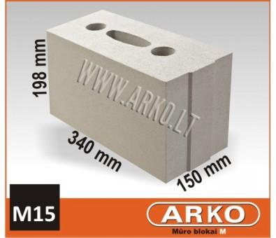 ARKO silikatinis – mūro blokelis M15