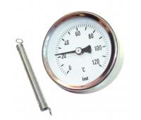 Bimetalinis priglaudžiamas termometras F+R810 WATTS