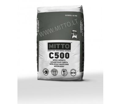 Mūro mišinys MITTO C500 40 kg