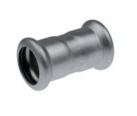 Plieninė cinkuota presuojama mova 15 mm