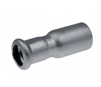 Plieninė cinkuota presuojama jungtis išorė / vidus 42 x 35 mm