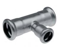 Plieninis cinkuotas presuojamas trišakis redukuotas 18 x 22 x 18 mm