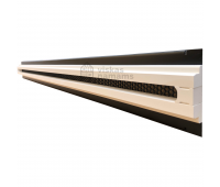 Plyšinis priglaistomas difuzorius Line 1, L - 625 mm, Ventmann