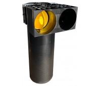 Difuzoriaus dėžė lanksčiam ortakiui 75 mm, 2 žiedų Profi Air Classic