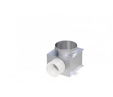 Difuzoriaus dėžė lanksčiam ortakiui 75 mm, 1 žiedo, REC Balticvent