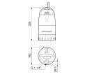 Drenažinis siurblys Unilift CC7 - A1 GRUNDFOS