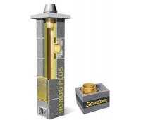 Kaminas SCHIEDEL Rondo Plus su ventiliacija 140 mm, H - 4 m