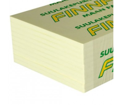 Ekstruzinis polistirenas Finnfoam XPS, FI-300/P 100 x 600 x 1250 mm