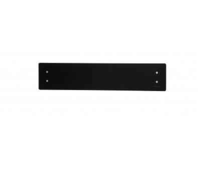 Elektrinis radiatorius stikliniu paviršiumi Adax CLEA CL 06 KET Black, 600 W