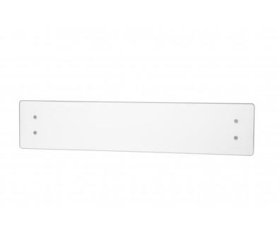 Elektrinis radiatorius stikliniu paviršiumi Adax CLEA CL 08 KDT White, 800 W