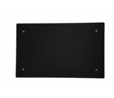 Elektrinis radiatorius stikliniu paviršiumi Adax CLEA CP 08 KET Black, 800 W