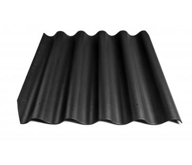 Beasbestinis šiferis Eternit Banga 920 x 875 mm juoda