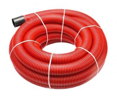 Gofruotas instaliacinis vamzdis kabeliui 50 / 41 mm (50m), 450N
