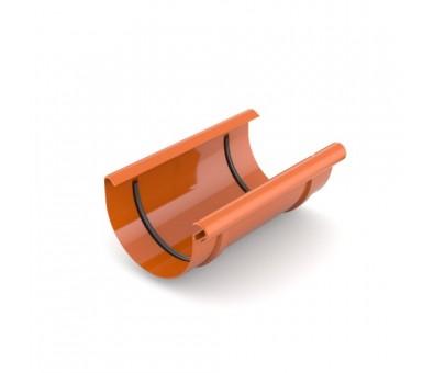 Jungtis latakui 125 mm plastikinė molio spalvos BRYZA