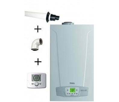 Dujinis kondensacinis katilas BAXI Duo-tec Compact 24 GA ( komplektas )