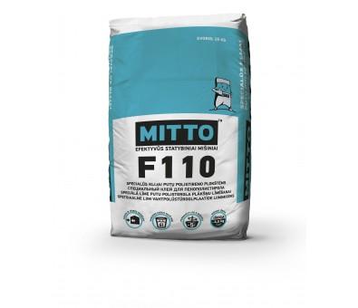 Specialūs klijai putų polistireno plokštėms MITTO F110 25 kg