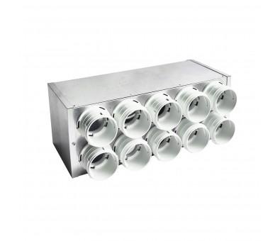 Kolektorius lanksčiam ortakiui izoliuotas 75 mm, 8 žiedų REC Balticvent