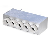 Kolektorius lanksčiam ortakiui 75 mm, 5 žiedų REC Balticvent