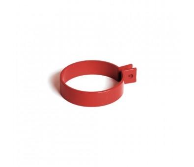 Laikiklis lietvamzdžiui plastikinis 90 mm raudonas BRYZA