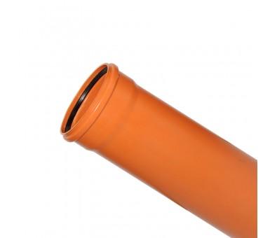 Lauko kanalizacijos vamzdis 160 / 2000 mm (Magnaplast, WAVIN)