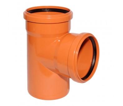 Lauko kanalizacijos trišakis 315 x 315 x 315 / 87° (Magnaplast, WAVIN)