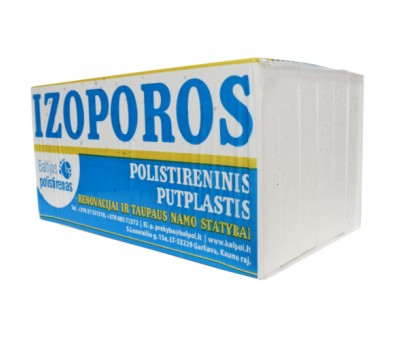 Polistirolas EPS50 1000 x 500 mm