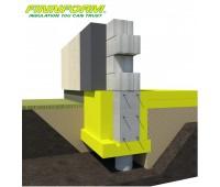 Liktinis klojinys Finnfoam XPS, UB-300 100 x 600 x 2500 mm