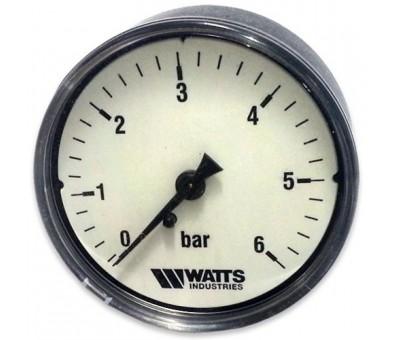 Manometras horizontalus 63 mm, 0 – 10 bar WATTS
