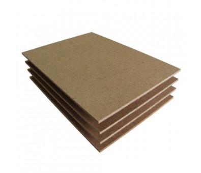 Didelio tankio medienos plaušų plokštė HDF 2850 x 2070 x 3,0 mm