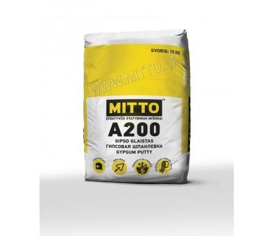 Gipso glaistas MITTO A200 15 kg