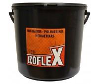 Bituminis – polimerinis hermetikas IZOFLEX, 10 l