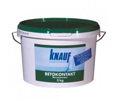 Neįgeriančių paviršių gruntas Knauf Betonkontakt  5 kg