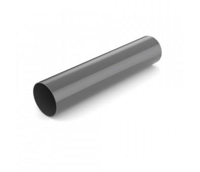 Lietvamzdis 90 / 3000 mm plastikinis grafito spalvos BRYZA