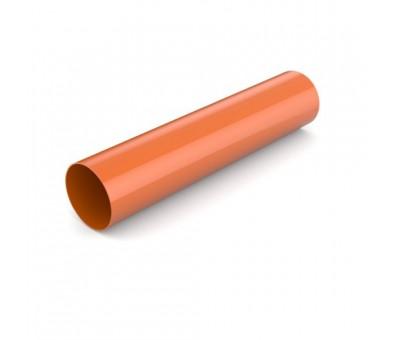 Lietvamzdis 90 / 3000 mm plastikinis molio spalvos BRYZA