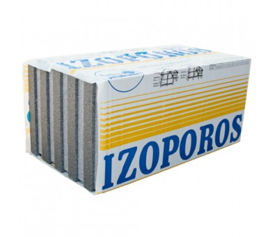 Polistirolas neoporas EPS80 1000 x 500 mm GRINDIMS frezuotas