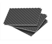 Putplastis šildomoms grindims 0,88 m² TENAPORS Termo Compact