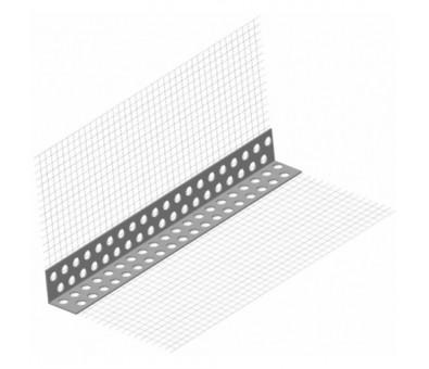 PVC kampas su tinkleliu 100 x 150 x 2500 mm