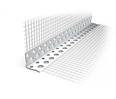 PVC kampas 100 x 150 x 2500 mm su tinkleliu EJOT