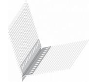 PVC profilis nulašėjimo su tinkleliu 2500 mm