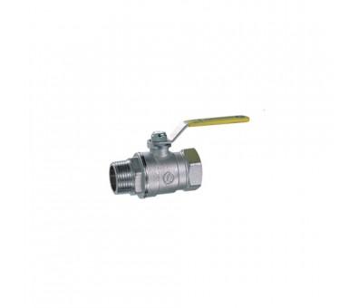 Rutulinis ventilis dujoms 1/2'' vidus/išorė ilga rankena GIACOMINI