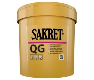 Kvarcinis gruntas mažai įgeriantiems paviršiams Sakret QG 15 kg