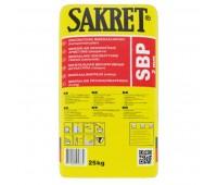 "Mineralinis dekoratyvinis tinkas Sakret SBP ""samanėlė"" 25 kg, 2 mm"
