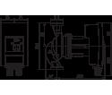 Cirkuliacinis siurblys Yonos MAXO 30/0,5-12 180 mm WILO