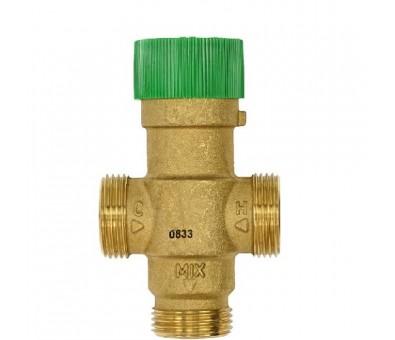 Trieigis termostatinis karšto vandens pamaišymo vožtuvas TM50-1/2E DN20 HONEYWELL