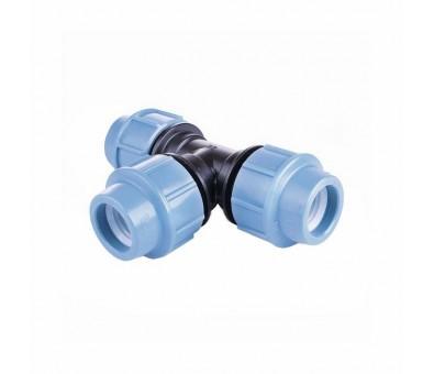 Trišakis PE vandentiekio vamzdžiui 25 mm