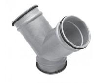 Ventiliacijos trišakis - kelnės 100 mm