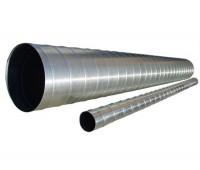 Ventiliacijos vamzdis - ortakis 125 / L-3000 mm